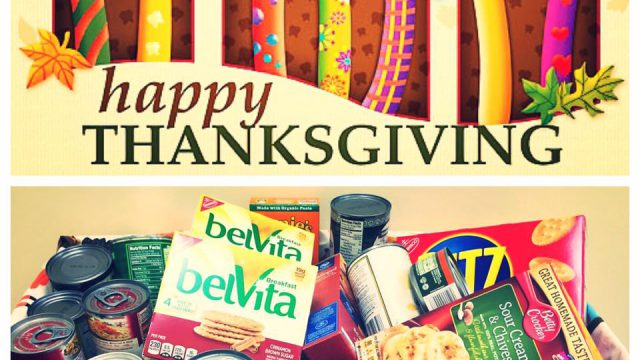 Featured Image For Happy Thanksgiving Food Drive!