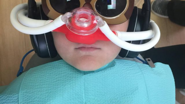 Featured Image For Nitrous Oxide/Laughing Gas and My Child's Dental Visit